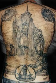 20 amazing j r r tolkien inspired tattoos flavorwire