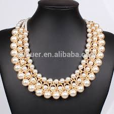 trendy pearl necklace images Latest design pearl necklace pearl jewelry wholesale fashion jpg