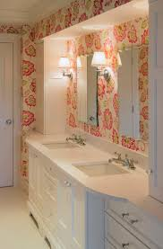 house bathroom ideas 279 best wallpapered bathroom images on bathroom ideas