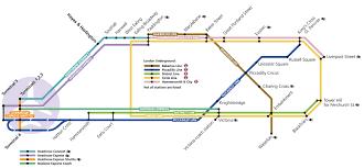 map of the underground in underground to heathrow heathrow
