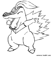 pokemon coloring pages totodile cyndaquil coloring page 6685 950 950 rotorsport2 com