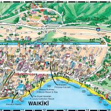map of waikiki customizable hotel maps mobile concierge apps affordable