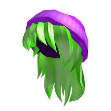 is there pink hair in roblox purple beanie with neon green hair roblox random video games