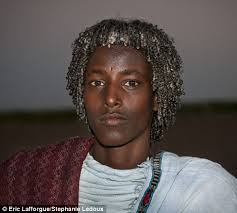 somali haircuts the ethiopian tribes who use butter to style their hair
