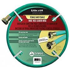 Hose Reel Solution For Yard And Garden Outdoor Faucet Extension Amazon Com Flexzilla Garden Lead In Hose 5 8 In X 3 Ft Heavy