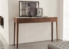 modern console table with drawers porada ziggy console table with drawers porada furniture at go
