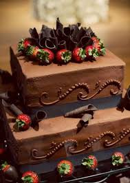 chocolate wedding cakes with strawberries casadebormela com