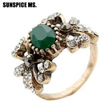 antique gold rings images Buy sunspice ms vintage rings turkish women jpg