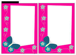 Halloween Paper Borders by Free Baby Shower Border Templates Cliparts Co