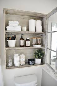 Corner Wall Art by Stylish Bathroom Shelving Ideas Cream Wall Color And White Solid