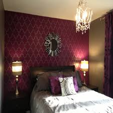 purple bedroom accent wall decorating ideas for bedrooms