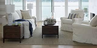 Coastal Living Room Chairs Harborside Coastal Living Room Crate And Barrel