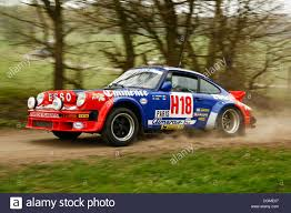 rally porsche 911 porsche 911 built in 1982 vintage rally car during the german