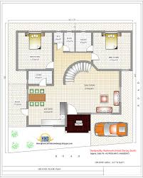 modern 2 bedroom 1000 ft home design plans 3d with house just the