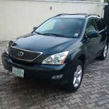lexus rx330 nairaland neatly used 2006 lexus rx330 for 2 5m negotiable autos nigeria