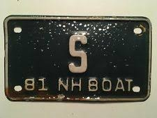New Hampshire Vanity Plate Collectible New Hampshire License Plates Ebay