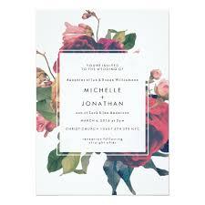 wedding invitation wedding invitations fresh antique roses vintage boho wedding
