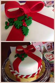 Christmas Cake Frills Decorations by 1644 Best Christmas Cakes Images On Pinterest Christmas Cakes