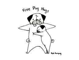 bah humpug free pug hugs