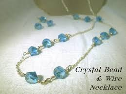 make crystal necklace images Enjoyable inspiration crystal bead necklace jewelry etsy vintage jpg