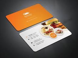 Singapore Business Cards Restaurant Business Card Business Card Templates Creative Market