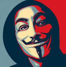 anonymous mask fawkes mask anonymous milieu used in threat