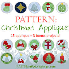 christmas applique quilt pattern christmas and winter applique gift ideas