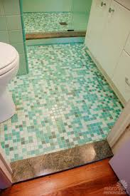 rebecca u0027s mid century bathroom remodel using nemo tiles mud set