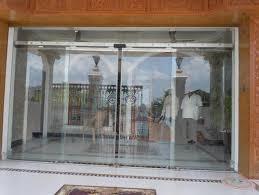 entrance glass door automatic sliding glass doors doors and windows indian entrance