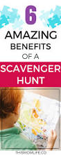 6 amazing benefits of a scavenger hunt this mom life