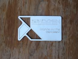 laser cut business cards laser cut business card repper s delight
