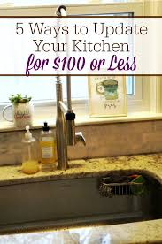 5 ways to update your kitchen for 100 or less the humbled homemaker