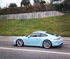 gulf porsche 911 gulf blue porsche 911 r is a stripeless sensation in switzerland