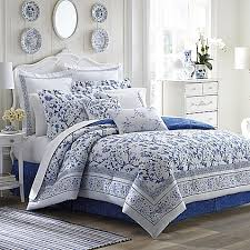 Laura Ashley Bedroom Images Laura Ashley Charlotte Comforter Set In China Blue Bed Bath