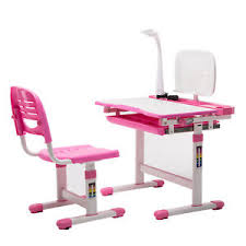 study table and chair children s study desk chair set adjustable child kids table with