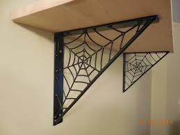 mike maloney spider web shelf brackets crafted home