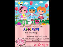 Lalaloopsy Invitation Cards Lalaloopsy Images Titi U0027s B Day Invite Hd Wallpaper And Background