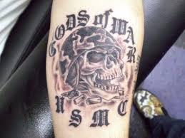usmc usmc skull 25 fantastic marine corps tattoos