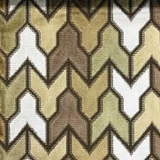 Peacock Velvet Upholstery Fabric Rocket Geometric Pattern Cut Velvet Upholstery Fabric By The Yard