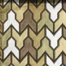 Geometric Fabrics Upholstery Rocket Geometric Pattern Cut Velvet Upholstery Fabric By The Yard