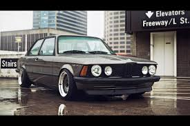 bmw slammed hell on wheels e21 slammed