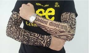 unisex cool tattoo sleeve arm cover full sleeves uv block