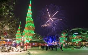 eve drop christmas lights whistler bc canada christmas and new year s in whistler tourism