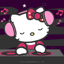 wallpaper gif untuk dp bbm hello kitty images dj hello kitty xd wallpaper and background photos