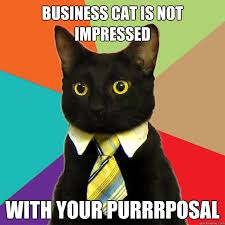 Not Impressed Meme - business cat is not impressed cat meme cat planet cat planet