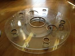 Lazy Susan Turntable For Patio Table Furniture 2 Tier Turntable Lazy Susan Lazy Susan Turntable