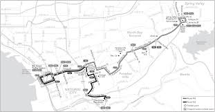 Trolley San Diego Map by Route 962 Timetables