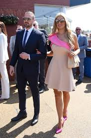 he u0027s taken her out paddy mcguinness hits the races with glam wife