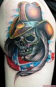 cowboy skull tattoo tattoo viewer com