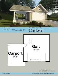 2 Car Garage Dimensions Traditional Garage Plan Caldwell